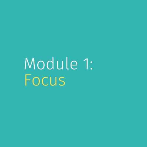 Module 1: Focus