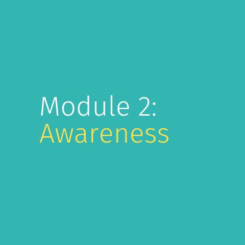 Module 2: Awareness