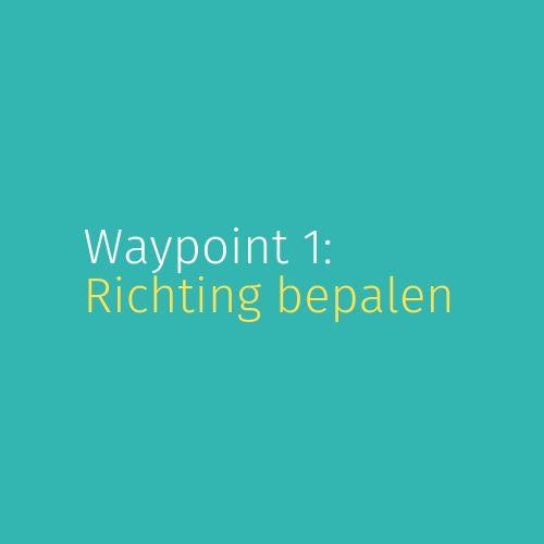 Module 3: Waypoint 1: Richting bepalen