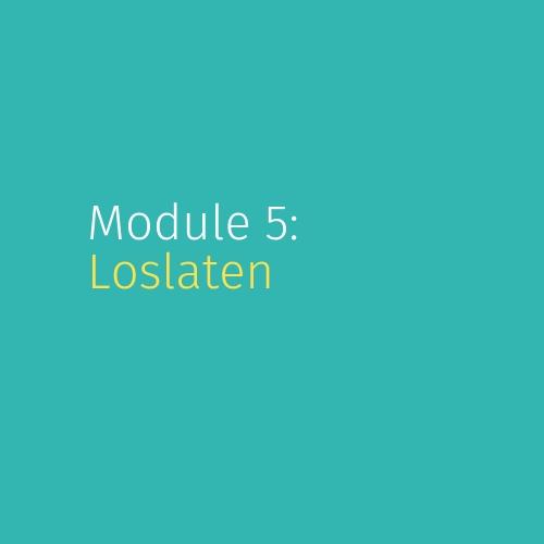 Module 5: Loslaten