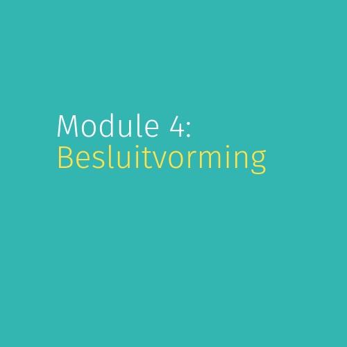 Module 4: Besluitvorming