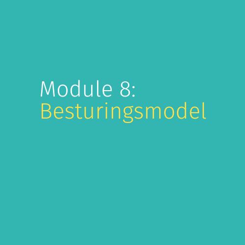 Module 8: Besturingsmodel