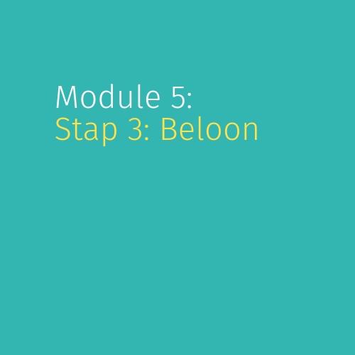 Module 5: Stap 3: Beloon